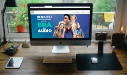 Website RCN Radio Comercial